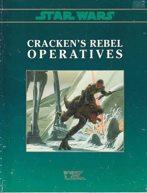 Star Wars D6 Crackens Rebel Operatives (B Grade) (Genbrug)